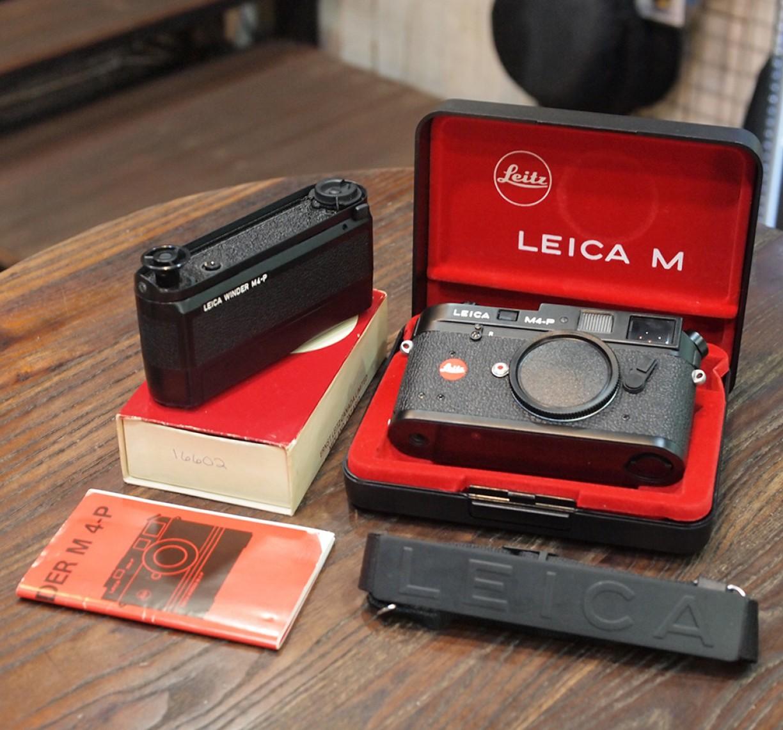 Jual Leica M4-P Leica m4p Black Ernst leitz wetzlar plus