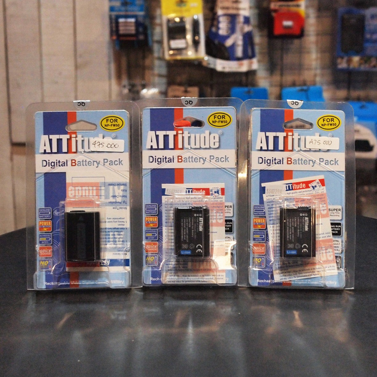 ATTITUDE BATTERY FOR SONY NP-FW50