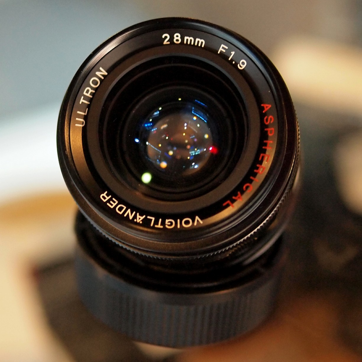VOIGTLANDER ULTRON 28MM f/1.9 - GOOD CONDITION | 0183